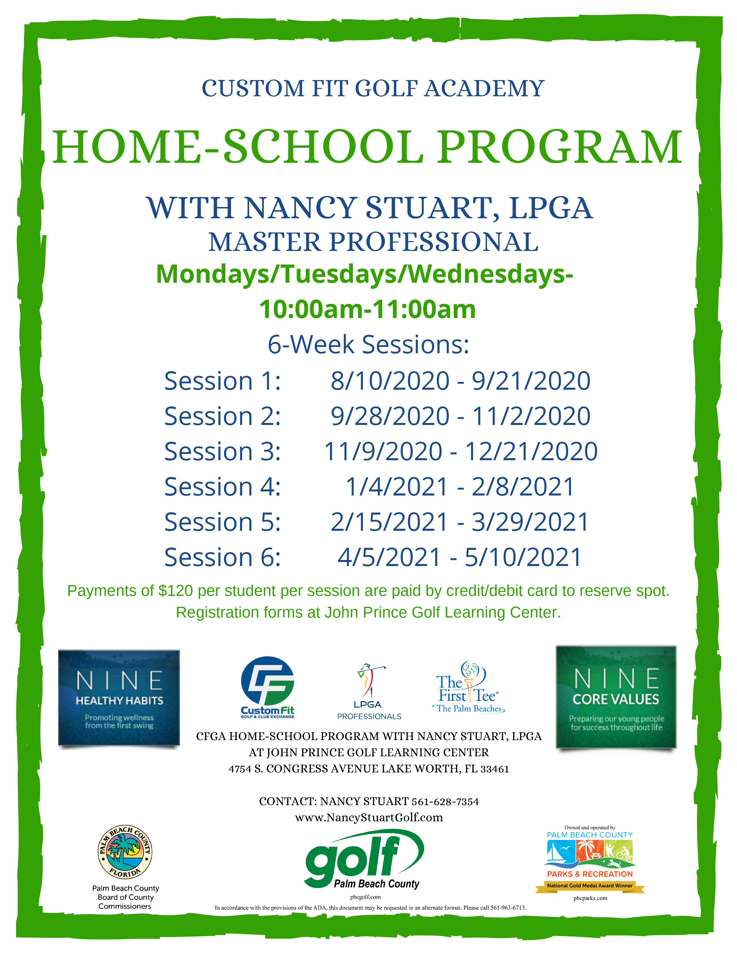 CFGA HOME SCHOOL PROGRAM