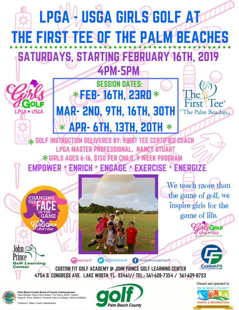 LPGA USGA GIRLS GOLF AT THE FIRST TEE OF THE PALM BEACHES