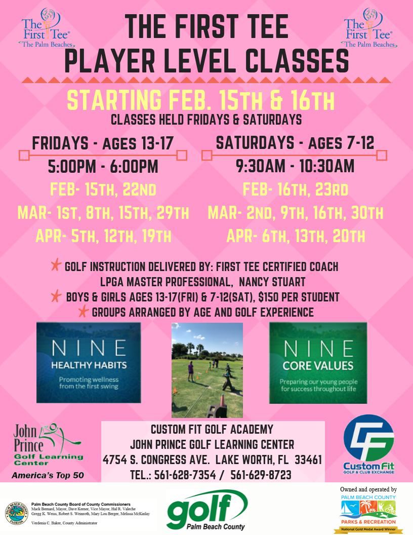 The First Tee Player Level Class